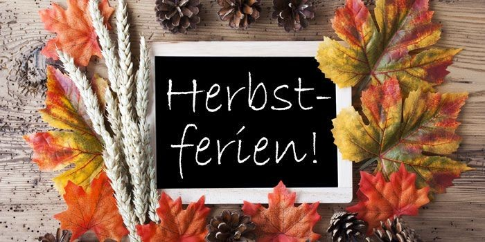 Training in den Herbstferien 05.10. - 17.10.2020